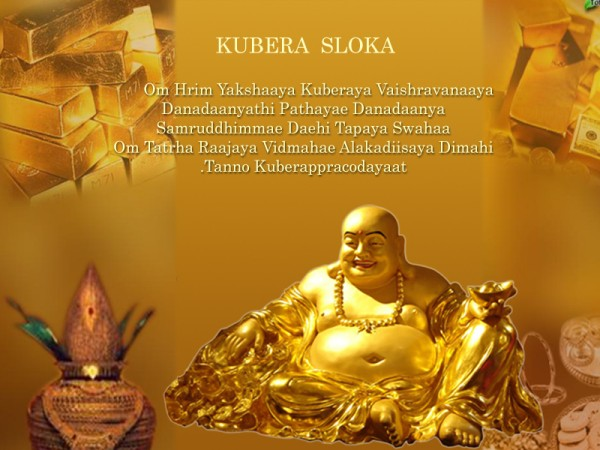 Pray Lord Kuber The Of Wealth